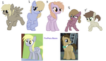 DOCTOR WHOOVES X DERPY ADOPTS OPEN - Banana-Spiral by Munchcala
