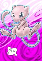 VGC #151 - Mew by blue-hugo