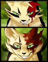 Warriors AMV frame Redraw :: Longtail by Mythic-Flame