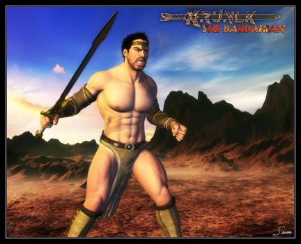 Krunlk - The Barbarian by celticarchie