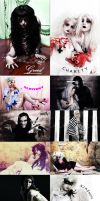 7 deadly sins vs 7 holy virtues by HexPhotography