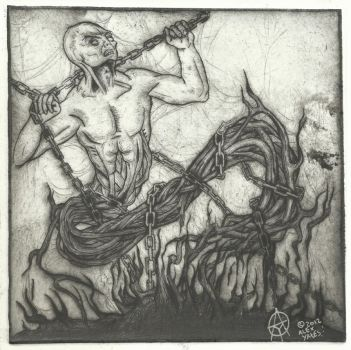 jinn drypoint by ayillustrations