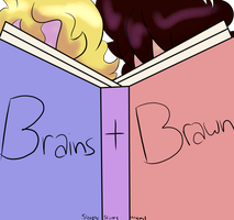 Brains and Brawn - Original Comic Teaser by SleepyStaceyArt
