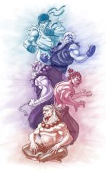 Street Fighter Tribute Piece by shubacca