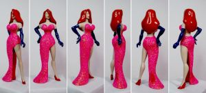 Jessica Rabbit Custom Action Figure by GeekVarietyDotCom