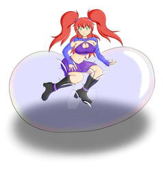 Elysia- Bubble Jester by GoldLinaric