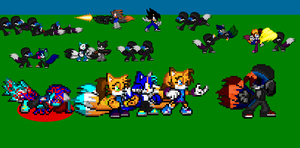 Janic,Jurou,Eri and the others help Coz out by Coz-the-Fox