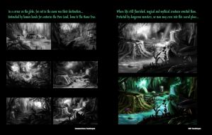 Spectrum of Mana: Pure Land WIP Page by LightningArts