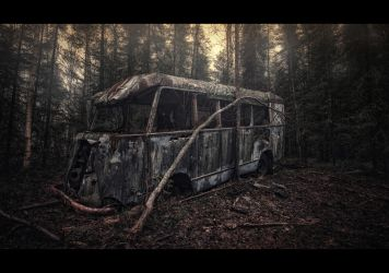 the Dead Bus by wchild