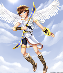 Rinspirit Art 48 24 Pit Kid Icarus By