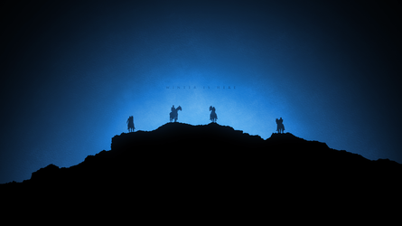 Game of Thrones Wallpaper - White Walkers by RockLou