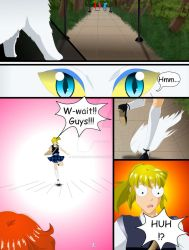 Saban Moon Season 1 episode 1 pg 7 by NirtoHoney96
