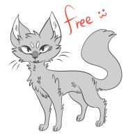 free feline base by ArchSerpent