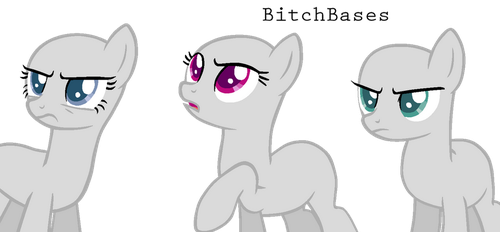 MLP Base: When the squad is mad at the same bitch by KIngBases