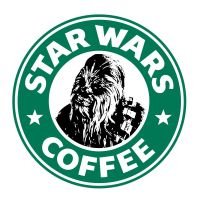 Starbucks Chewbacca by theCrow65