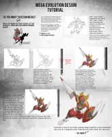 Mega Evolution Design Tutorial by rey-menn