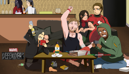 All In a Day's Work ~ The Defenders by TheMuseumOfJeanette