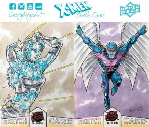 X-Men sketch cards R13 by shaotemp