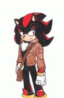 Shadow- Alt. Outfit by AJ-illustrated