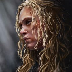Clarke Griffin by samanthadoodles