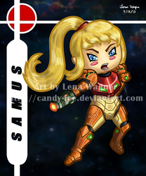 Brawl Chibis - Samus by Candy-Ice