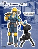 Girls' Team Fortress: Engineer Girl by TexasUberAlles