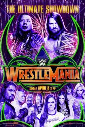 WWE WrestleMania 34 by spacer114
