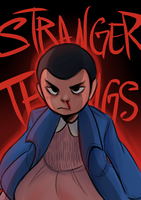 Stranger Things: Eleven by Meiiwan