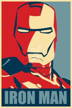 Iron Man Hope Poster Mark 1