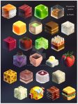 Materials practice: 24 yummies pack by Shadify