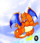 Full Speed Charizard! by DeltaFang8521