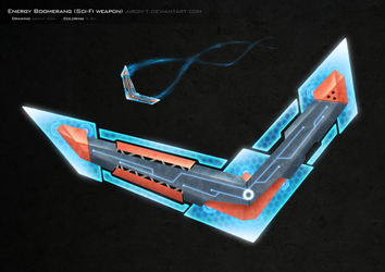 Sci-Fi Boomerang by Airon-T