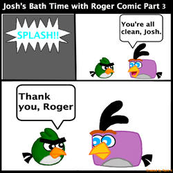 Josh's Bath Time with Roger Comic Part 3 by Mario1998
