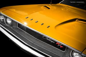 Yellow 1970 Challenger by AmericanMuscle