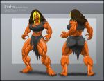 Commission Reference Sheet Idalia (monster form) by Einom
