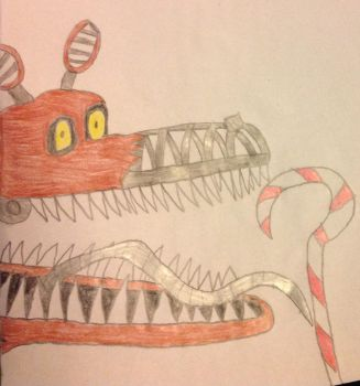 The Nightmare before Foxy Christmas by Prince5s