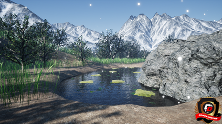 Unreal Engine 4 Mysterious Circle by DaminDesign