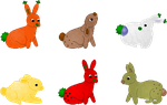 Foonnies adoptables - name your price [3/6 OPEN] by Minakie