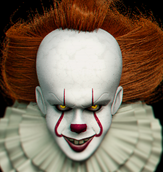 Pennywise, the Dancing Clown - WIP by HeroGollum