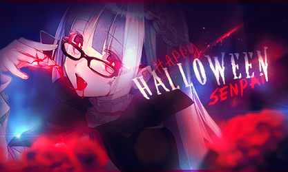 Happy Halloween, Senpai! by Candranna