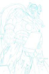 The Mighty Thor WIP by TyndallsQuest