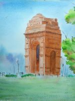 India gate by DiptiArt