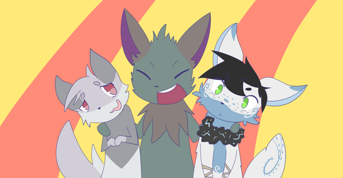 Group Picture! by ChibiKiiro