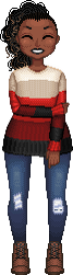 The Best Time To Wear A Striped Sweater by VellumSkin