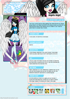 Angela Angel Bio by Rakemi