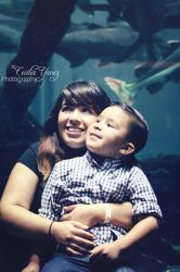 Mother and Son by ceciliay