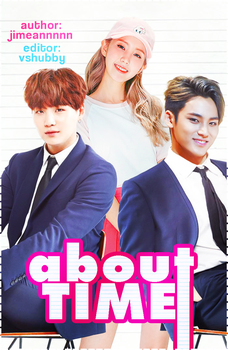 About Time [BTS Suga ft SVT Mingyu] Wattpad Cover by vshubby