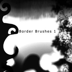 Border Brush 1 by estoyenferma-stock