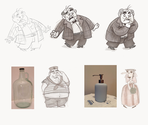Character design class assignment wk 6 by suetabulous