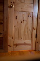 Cedar Door by VioletBreezeStock